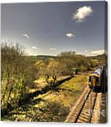 Spring At Seaton Junction  Canvas Print