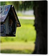 Spring Birdhouse Canvas Print