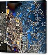 Spring Blossoms In The City - New York Canvas Print