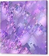 Spring Breeze Pixelated Art Canvas Print