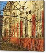 Spring Buds And Urban Decay 3 Canvas Print