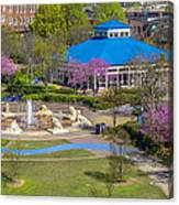 Spring Coolidge Park 2 Canvas Print