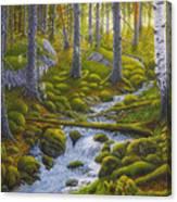 Spring Creek Canvas Print