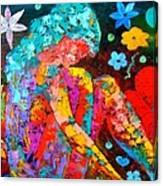 Spring Fantasy Canvas Print