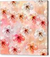 Spring Flowers Abstract 5 Canvas Print