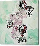 Spring Flutter Canvas Print
