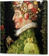 Spring, From A Series Depicting The Four Seasons Canvas Print
