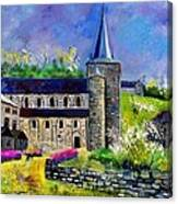 Spring In Celles  Canvas Print