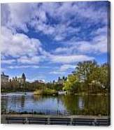 Spring In Central Park Canvas Print