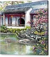 Spring In Dr. Sun Yat-sen Gardens Canvas Print