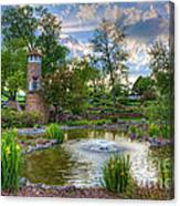 Spring In Harmon Park Canvas Print