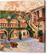 Spring In Tlaquepaque Canvas Print