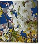Spring Life In Still-life Canvas Print