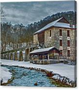 Spring Mill  Canvas Print