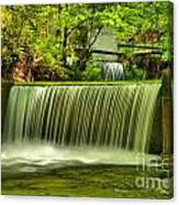 Spring Mill Spillway Canvas Print