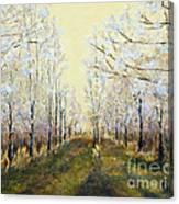 Blue Moon Acres Canvas Print