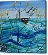 Spring On Lake Ontario Canvas Print
