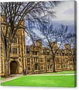 Spring On The Law Quad Canvas Print