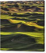 Spring On The Palouse Canvas Print