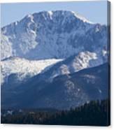 Spring Peak Canvas Print