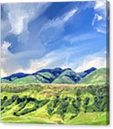 Spring Rains Near San Luis Obispo Canvas Print