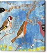 Spring Singing Beginning Canvas Print