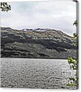 Spring Snow In The Highlands Canvas Print