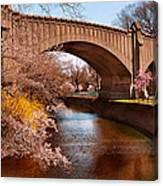 Spring - Springtime In Newark Canvas Print