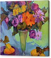 Spring Still Life Canvas Print