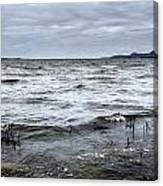 Spring Storm On Lake Champlain Canvas Print