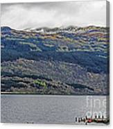 Spring Storm Over Loch Lomond Canvas Print