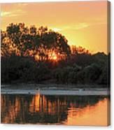 Spring Sunrise Gilbert Arizona Canvas Print