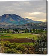Spring Time In The Valley Canvas Print