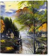 Spring Valley Canvas Print
