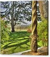 Spring Vineyards Canvas Print