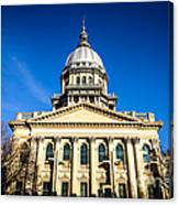 Springfield Illinois State Capitol Building Canvas Print