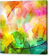 Springtime Abstract Canvas Print