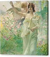 Springtime Allegory Canvas Print