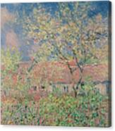 Springtime At Giverny Canvas Print