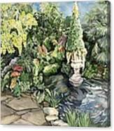 springtime at the Allan gardens Canvas Print