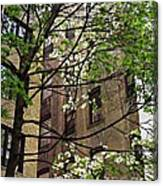 Springtime In Washington Heights 2 Canvas Print