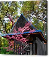 Springtime Pagoda Canvas Print