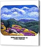 Springtime Santa Fe Canvas Print