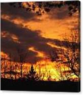 Springtime Sunset Canvas Print