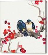 Springtime Sweethearts Canvas Print