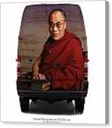 Sprinter Dalai Lama Canvas Print