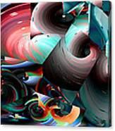 Spun Energy Canvas Print