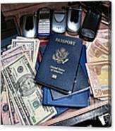 Spy Games Canvas Print