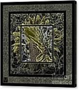 Sq Sunflower Stack Cont L Canvas Print