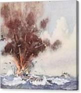 Squadron-commander A.w. Bigsworth Canvas Print